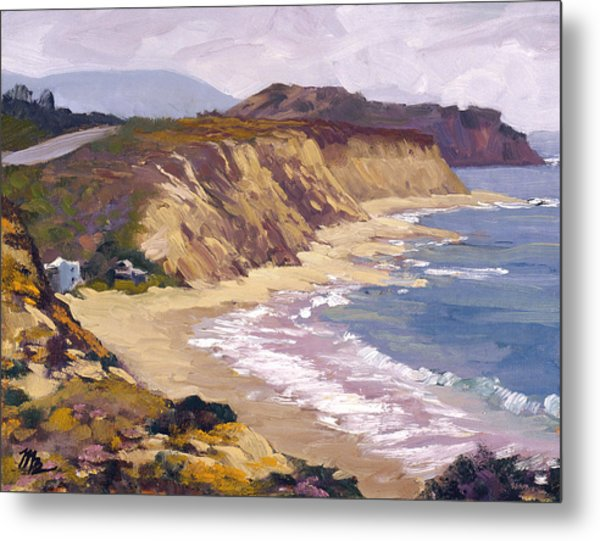 North Of Crystal Cove Metal Print