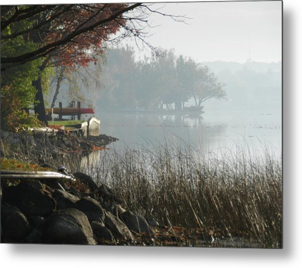 North Shore Metal Print by Dennis Leatherman