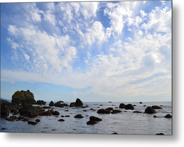 Northern California Coast1 Metal Print