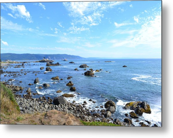 Northern California Coast3 Metal Print