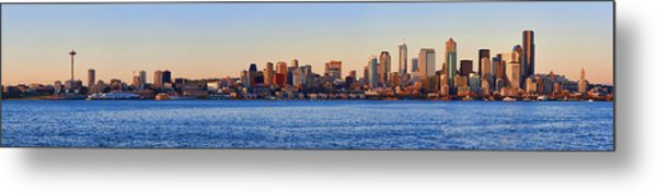 Northwest Jewel - Seattle Skyline Cityscape Metal Print