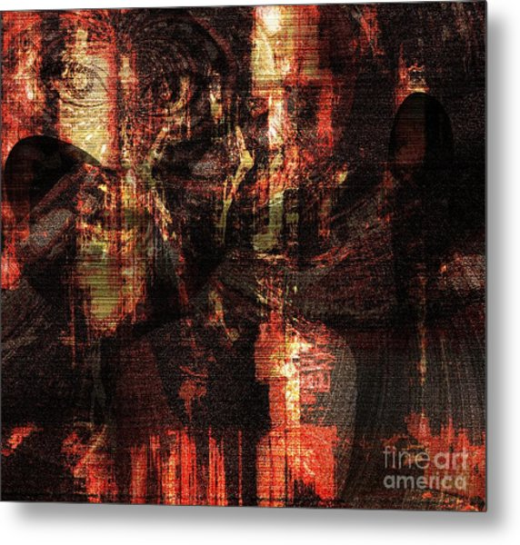 Not In Another World Metal Print by Fania Simon