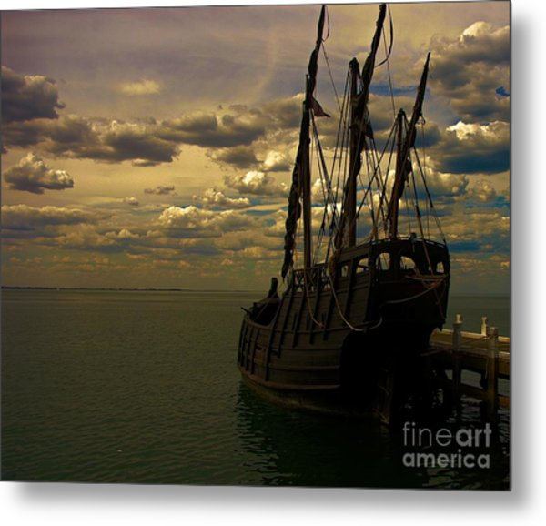 Notorious The Pirate Ship Metal Print