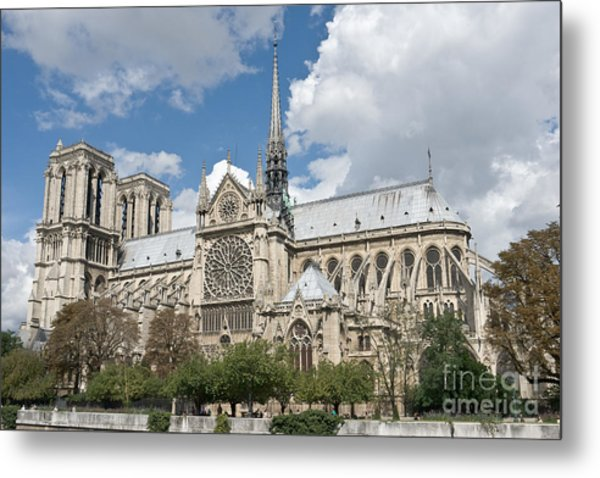 Notre-dame-de-paris I Metal Print by Fabrizio Ruggeri
