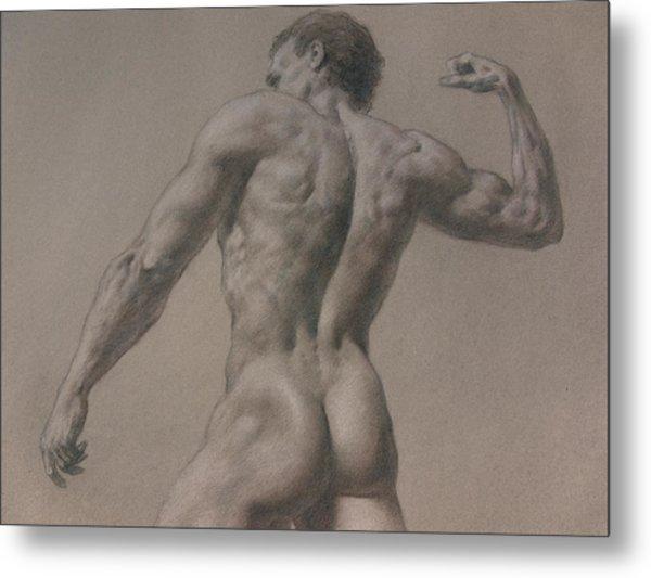 Nude - 8 A Metal Print