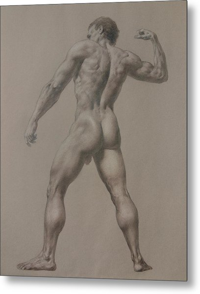 Nude-8 Metal Print