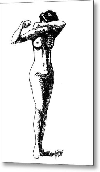 Nude Study 1 Metal Print