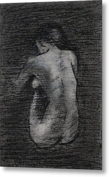 Nude Study....miniature Metal Print