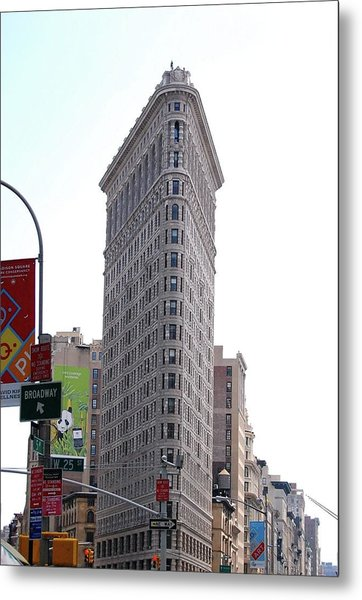 Nyc - The Flatiron Building Metal Print