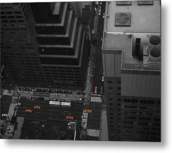 Nyc From The Top 1 Metal Print