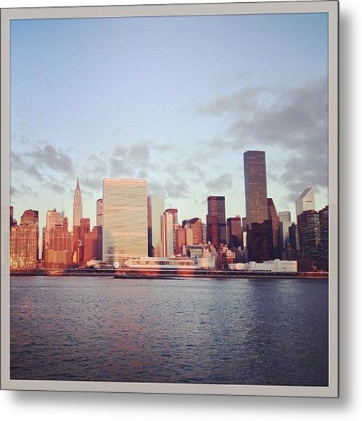 Nyc Sunrise Metal Print