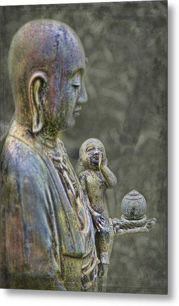 O-jizo-sama  Metal Print by Karen Walzer