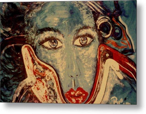 Ocean Goddess Metal Print