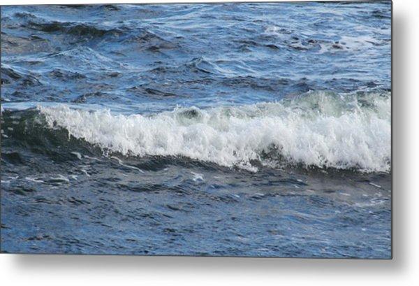 Ocean Wave Metal Print