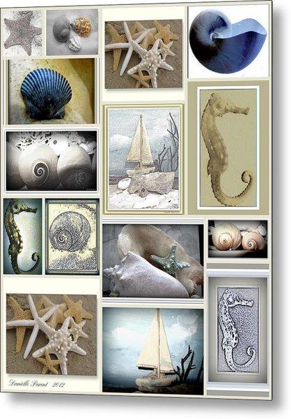Ocean Whispers Metal Print