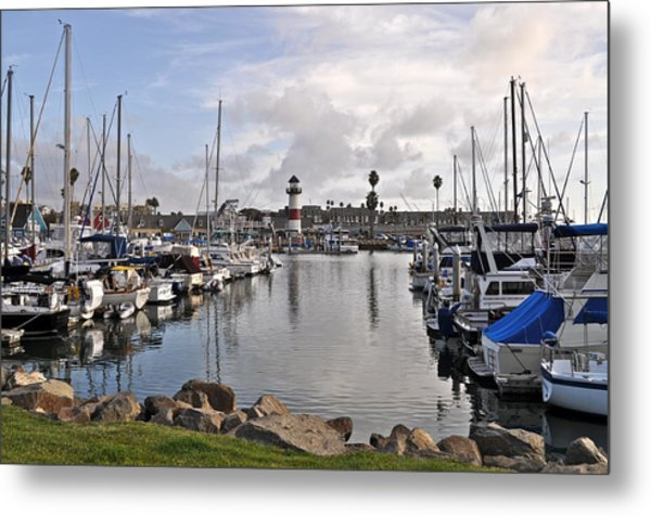 Oceaside Harbor Metal Print