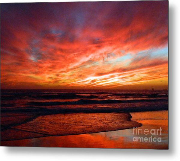 October Evenings Metal Print