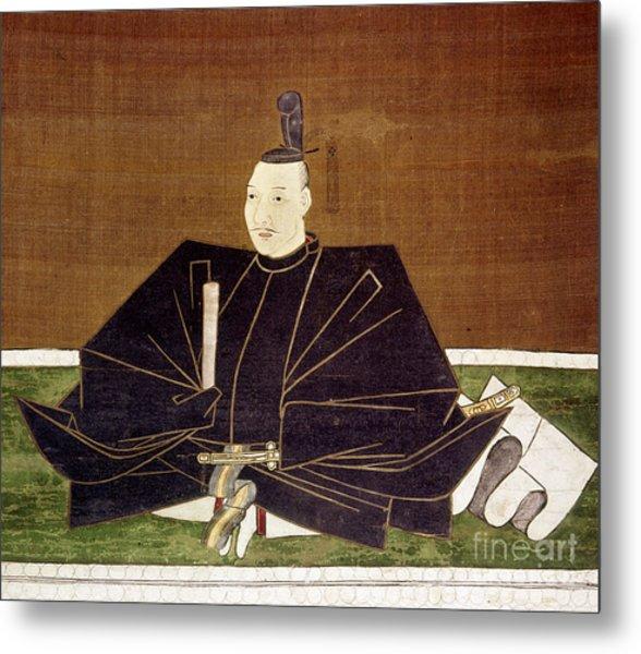 Oda Nobunaga (1534-1582) Metal Print