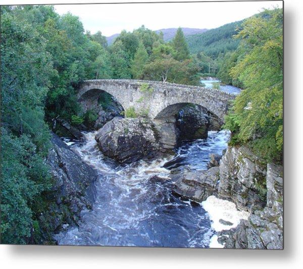 Old Bridge At Invermoriston Metal Print