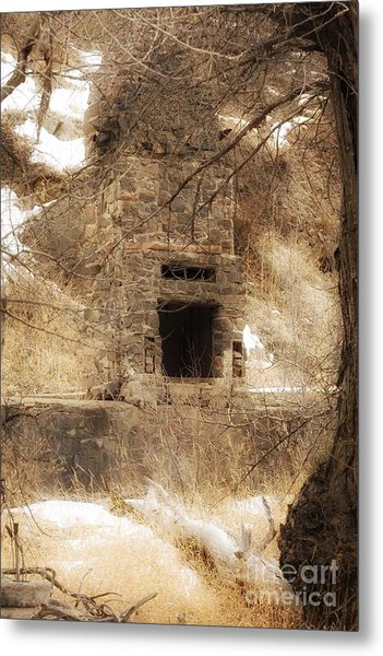 Old Chimney Metal Print
