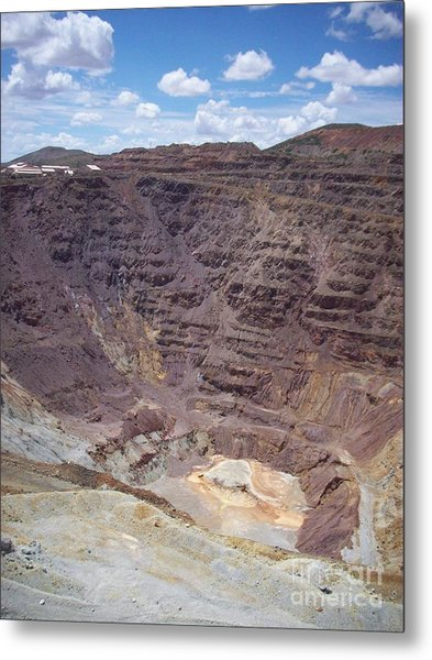 Old Coppermine  Metal Print
