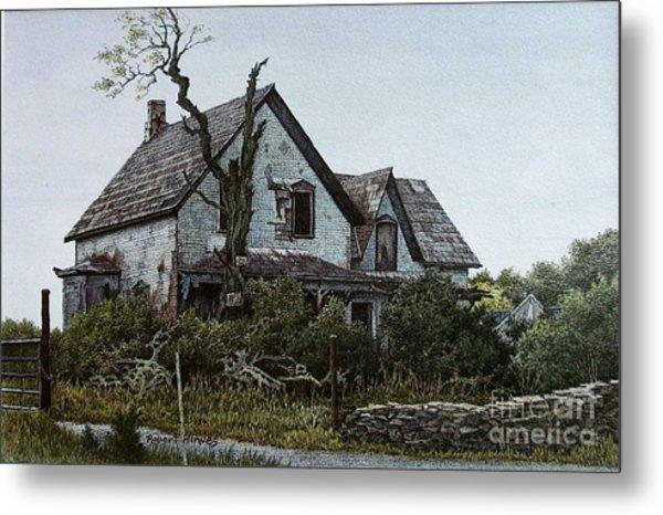 Old Farmhouse Picton Metal Print