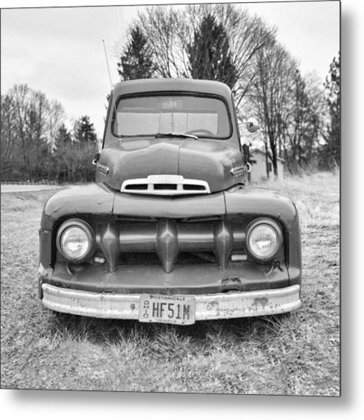 Black And White Ford