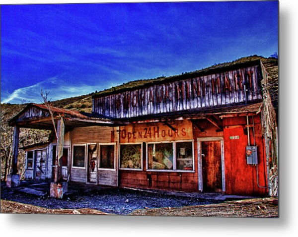 Old Gas Station Color Photograph By Dennis Sullivan