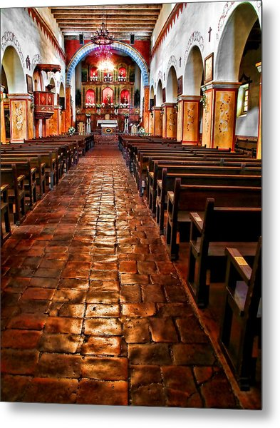 Old Mission Church Metal Print