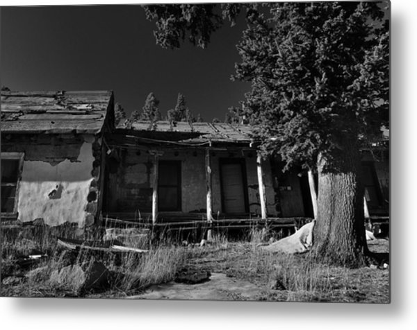 Old Mountain Ranch Metal Print