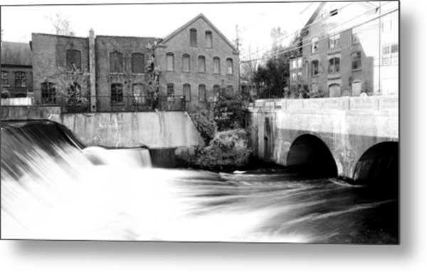 Old New England Mill Metal Print