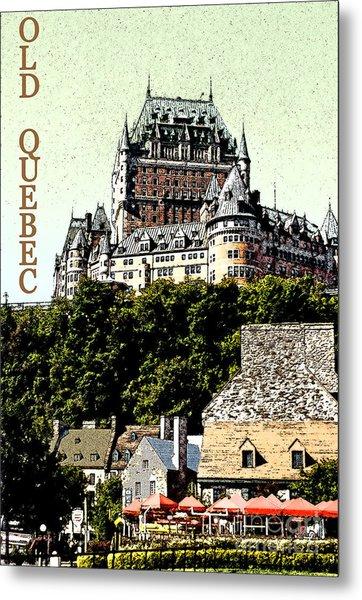 Old Quebec Metal Print by Linda  Parker