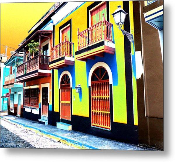 Old San Juan 10 Metal Print