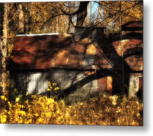 Old Sugar Shack Metal Print