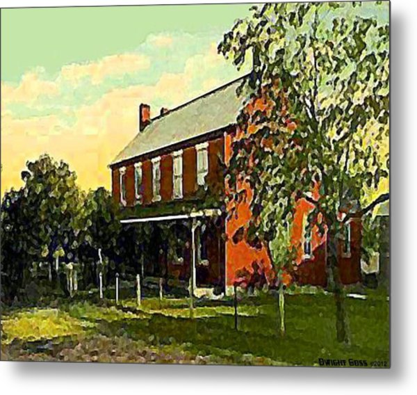 Old Tavern In Scenery Hill Pa Metal Print by Dwight Goss