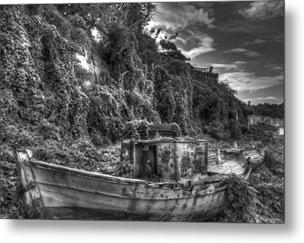 Oldboat Metal Print