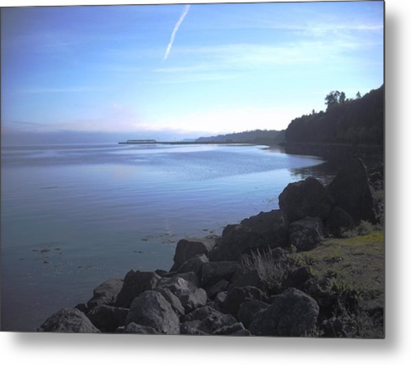 Olympic Discovery Trail Port Angeles Metal Print
