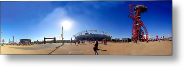 Olympic Park  Metal Print by Keith Sutton