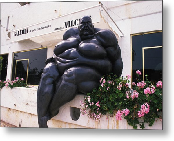 On A Diet In Monte Carlo Metal Print by Carl Purcell