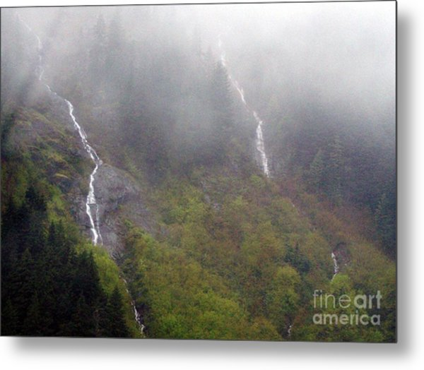 On Snoqualmi Pass Metal Print by Erica Hanel