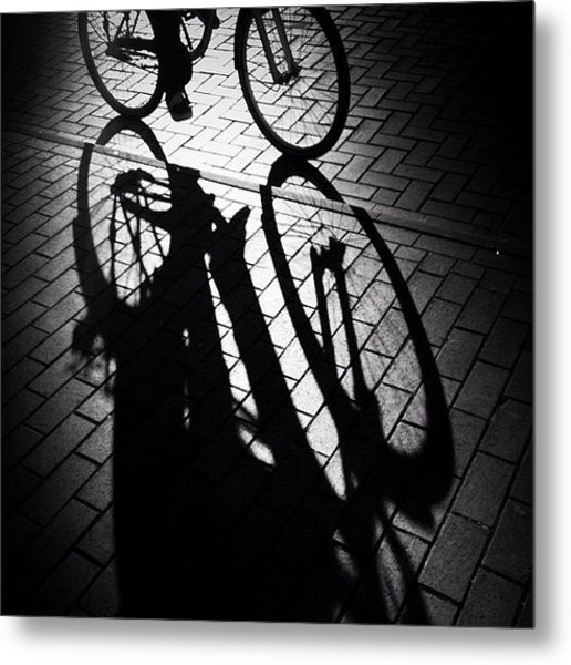 On The Move. See Y'all Later! #bycicle Metal Print