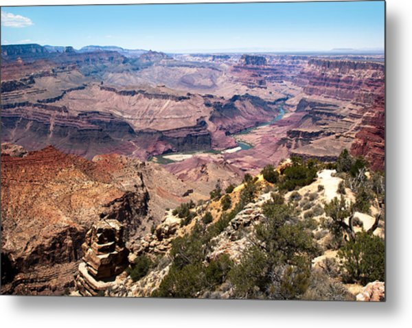 On The Rim Metal Print