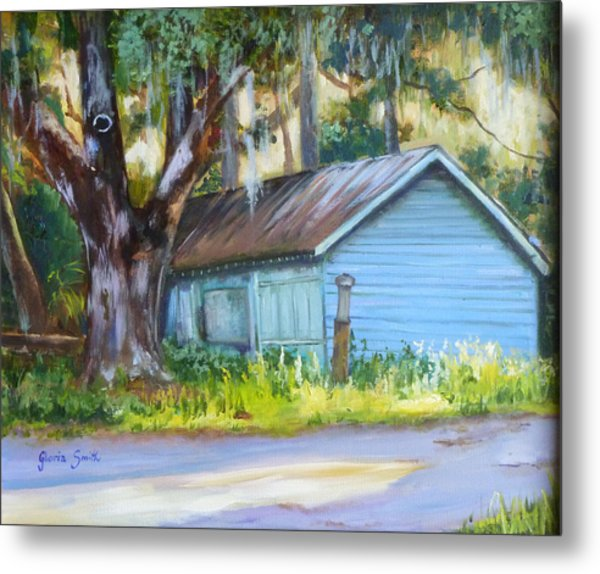 On The Road Metal Print by Gloria Smith