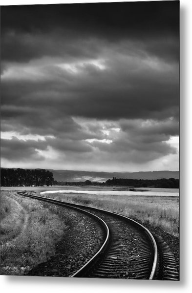 On The Track I. Metal Print by Jaromir Hron