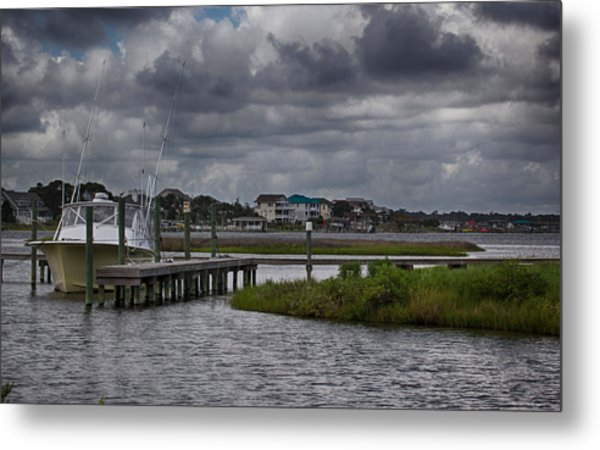 On The Water Metal Print by Christina Durity