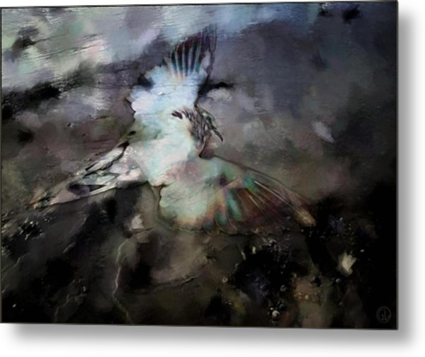 Once He Flew High Metal Print by Gun Legler