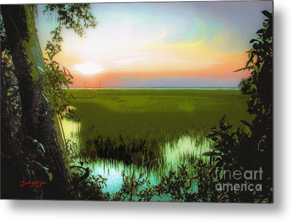 Once Upon A Time At Jekyll Island Metal Print