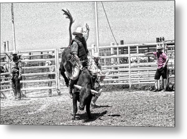 One Buck At A Time Metal Print by Rachelle Rice
