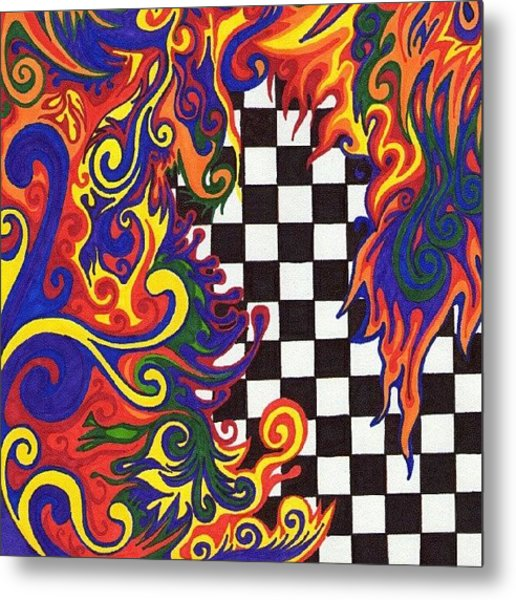One Of A Kind Sharpie Art From Metal Print