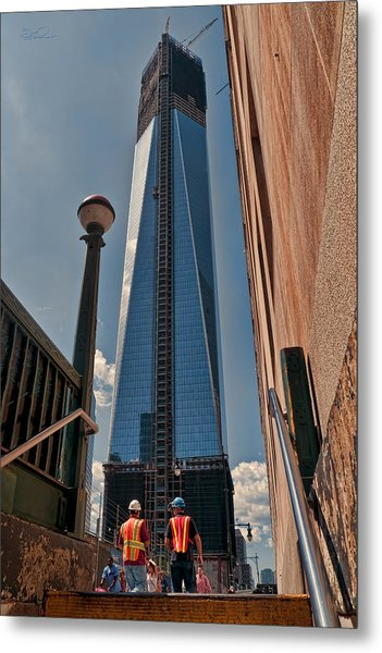 One Wtc First Look Metal Print